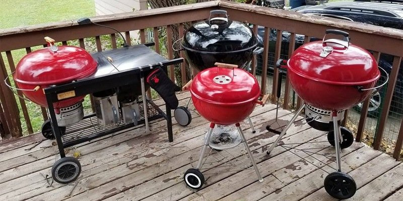 Charcoal grill reviews 2018