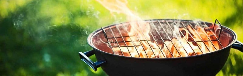 light charcoal grill