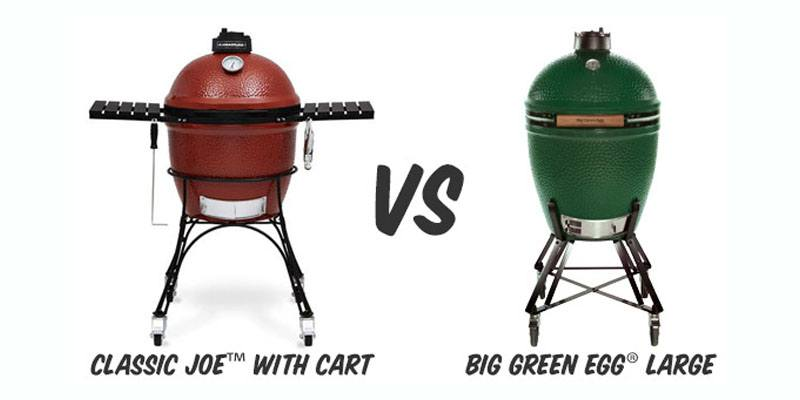Kamado Joe Vs Big Green Egg Comparison Prices Features Accessories