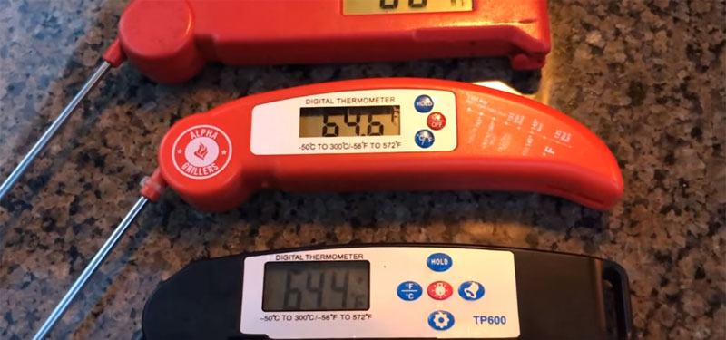 instant read thermometer tests