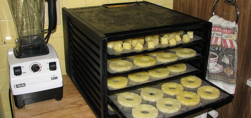 shelf and box type dehydrator