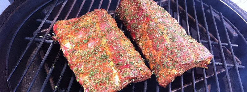 rub on ribs