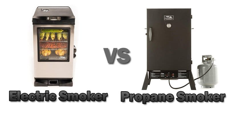 electric smoker vs propane smoker