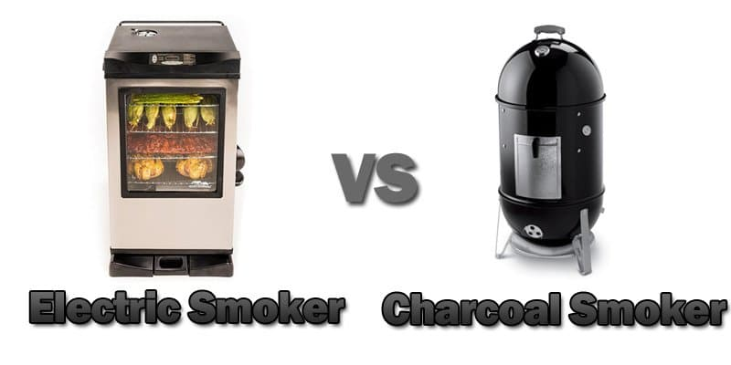electric vs charcoal smoker