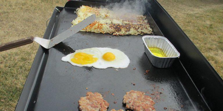 flat top grills