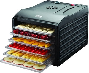 Aroma Housewares Professional 6 Tray Dehydrator