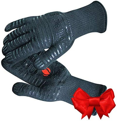 GRILL HEAT AID Extreme Heat Resistant Grill BBQ Gloves