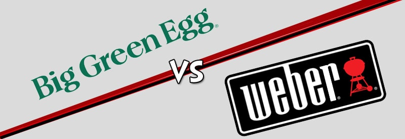 big green egg vs weber