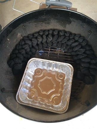 setup the grill