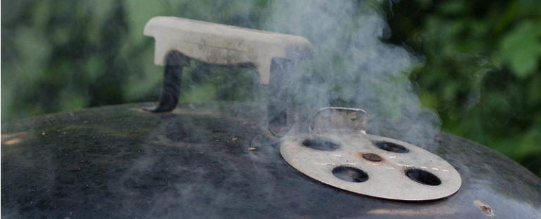 smoke on weber kettle