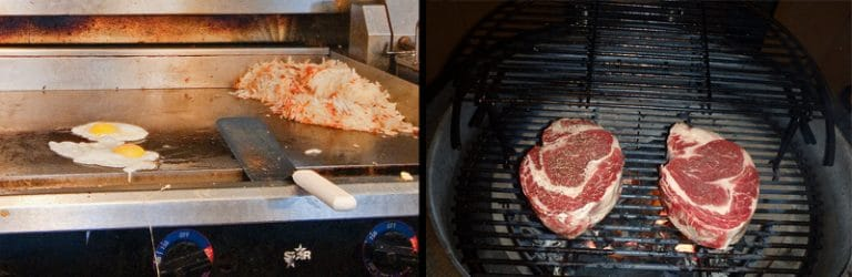 griddle vs standard grill
